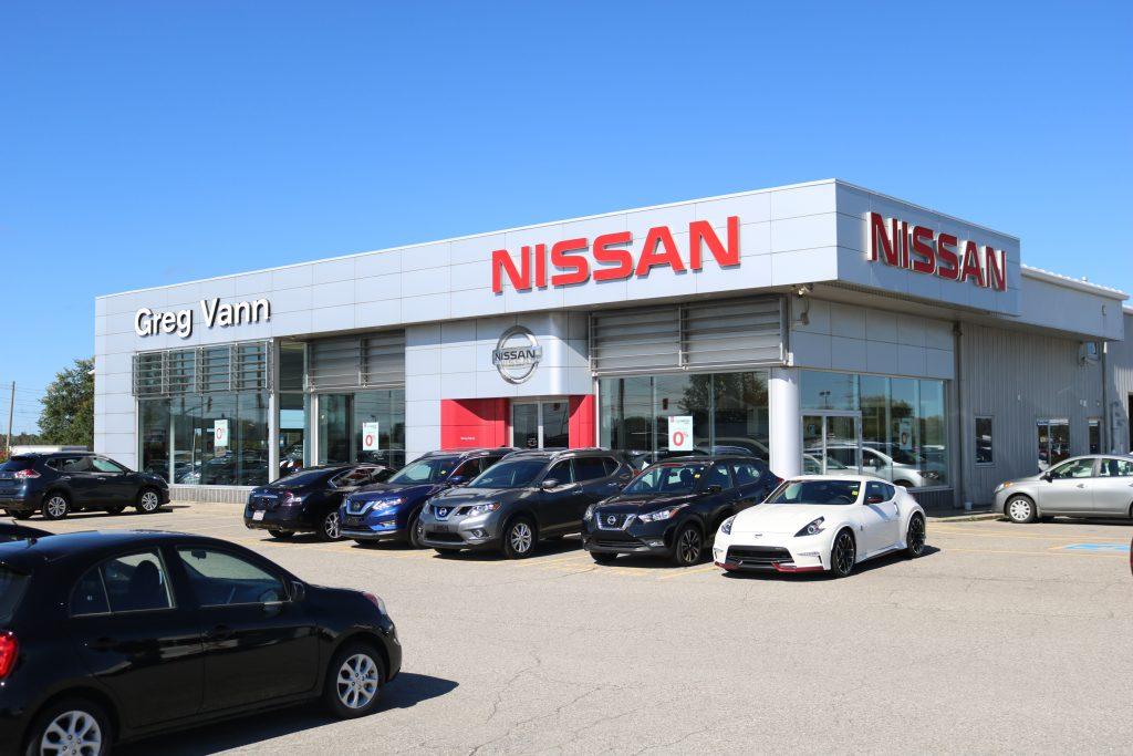 Directions Greg Vann Nissan Cambridge Nissan 519 650