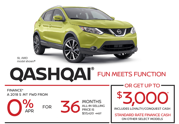 Button to Browse Qashqai Inventory
