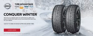 nissan winter tires special deal