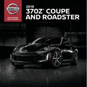 2019 nissan 370z brochure pdf