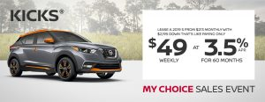 greg vann nissan kicks my choice march sales even banner