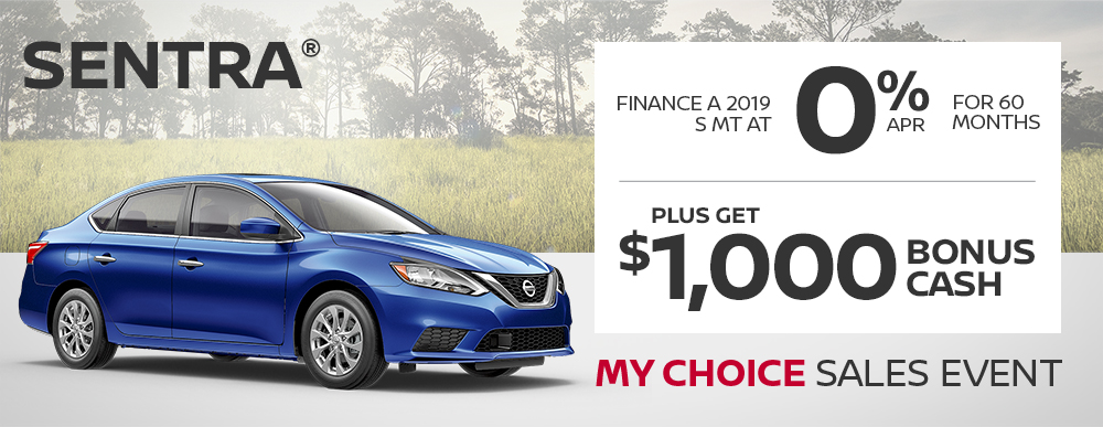 greg vann nissan specials sentra my choice april sales event banner