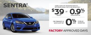 greg vann nissan specials sentra factory approved days june sales event banner