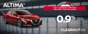 greg vann nissan specials altima sedan clearout november sales event