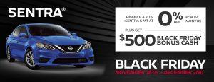 greg vann nissan specials sentra car sedan black friday november sales event ontario canada