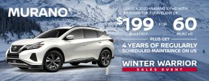 greg vann nissan winter warrior sale january 2020 murano banner suv car truck
