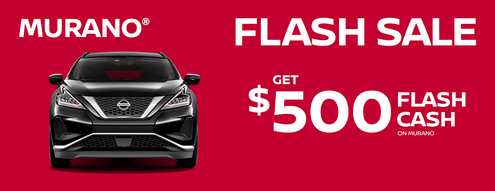 greg vann nissan specials murano my choice flash sale march sales event banner