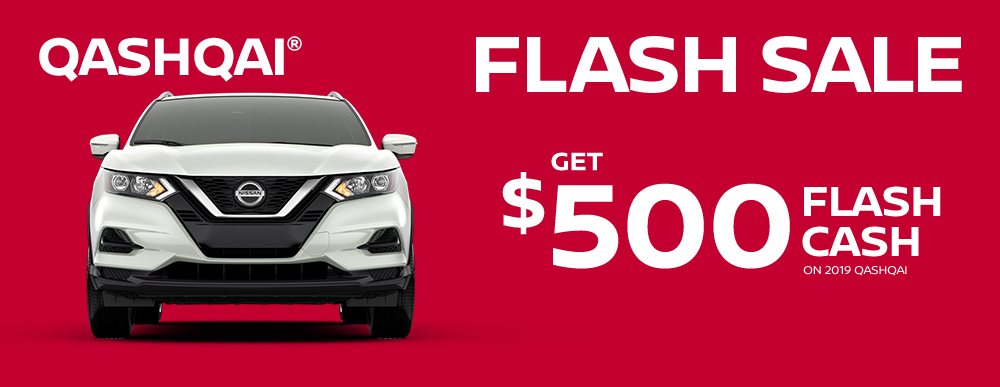 greg vann nissan specials qashqai my choice flash sale march sales event banner