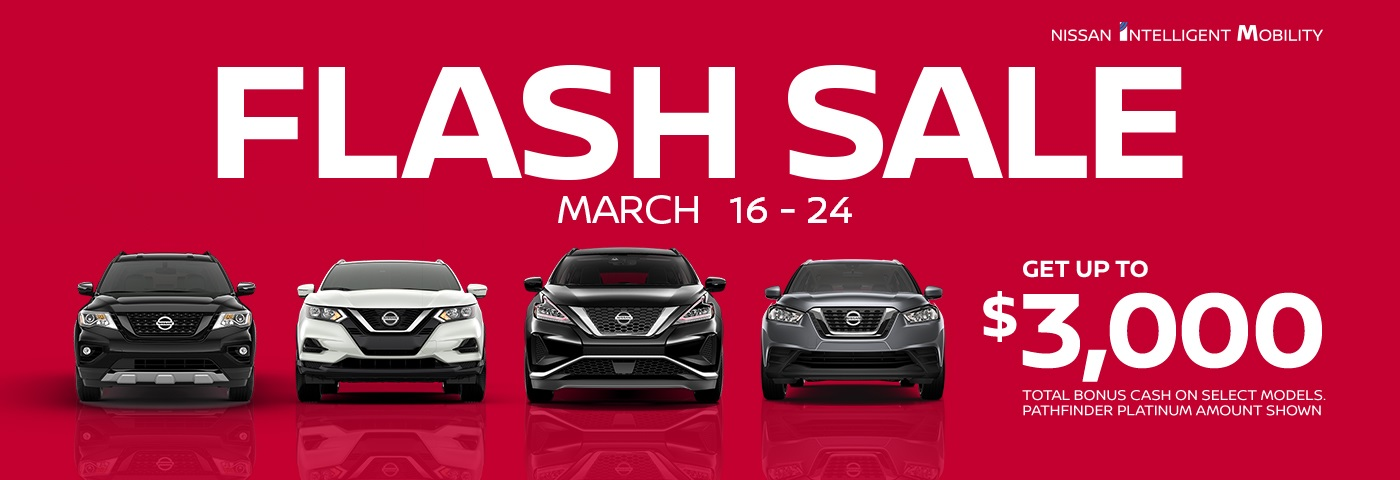 greg vann nissan cambridge kitchener waterloo guelph brantford march 2020 my choice flash sale sales event car truck suv cuv