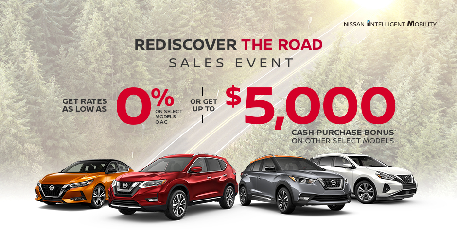 greg vann nissan specials 2020 july rediscover the road sales event